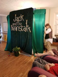 Jack and the Beanstalk stage