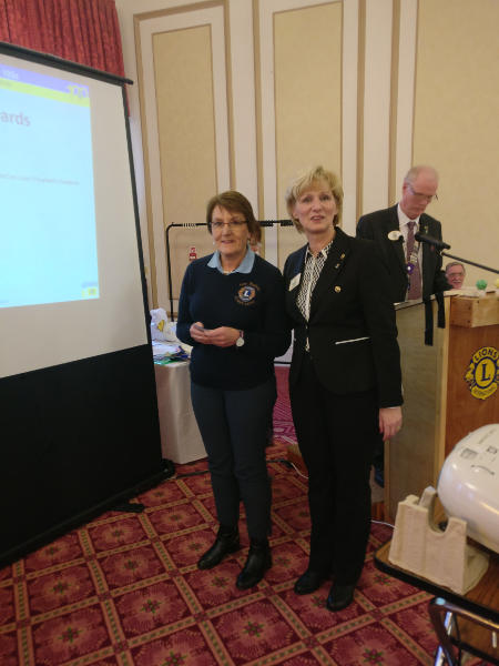 Ann receives the Centannial Club Award